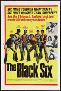 "Movie Posters:Blaxploitation, The Black Six (Cinemation Industries, 1973). One Sheet (27"" X 41""). Blaxploitation.. ..."