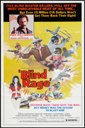 "Movie Posters:Blaxploitation, Blind Rage (Trans World, 1978). One Sheet (27"" X 41"").Blaxploitation.. ..."