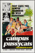 """Movie Posters:Adult, Campus Pussycats (Hemisphere Pictures, 1978). One Sheet (27"""" X 41""""). Adult.. ..."""