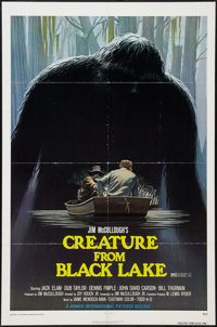 """Creature from Black Lake (Howco, 1976). One Sheet (27"""" X 41""""). Mystery"""