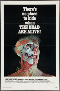 """The Dead Are Alive (National General, 1972). One Sheet (27"""" X 41""""). Horror"""