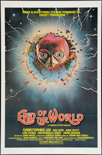 """End of the World (Irwin Yablans, 1977). One Sheet (27"""" X 41""""). Mystery"""