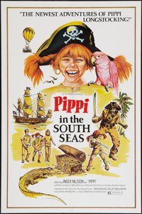 "Pippi in the South Seas & Other Lot (Endgame Entertainment, 1974). One Sheet (27"" X 41""). Family..."