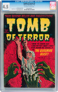 Golden Age (1938-1955):Horror, Tomb of Terror #2 (Harvey, 1952) CGC VG+ 4.5 Off-white to whitepages....