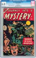 Golden Age (1938-1955):Horror, Journey Into Mystery #17 (Marvel, 1954) CGC FN 6.0 White pages....