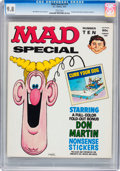 Magazines:Mad, Mad Special #10 (EC, 1973) CGC NM/MT 9.8 White pages....