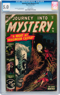 Golden Age (1938-1955):Horror, Journey Into Mystery #12 (Marvel, 1953) CGC VG/FN 5.0 Whitepages....