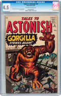 Silver Age (1956-1969):Mystery, Tales to Astonish #18 (Atlas, 1961) CGC VG+ 4.5 Off-white to whitepages....