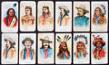 """Non-Sport Cards:Sets, 1910 E49 American Caramel """"Wild West Caramels"""" Complete Set Pair(2)...."""