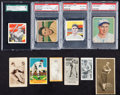 """Baseball Cards:Lots, 1910's-1940's Vintage """"Grab Bag"""" Collection (27 Different)Including Hall of Famers and M101-5 Rarity. ..."""