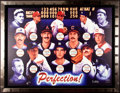 Baseball Collectibles:Others, Perfect Game Pitchers Multi Signed Canvas Print....