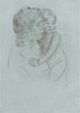 MARY STEVENSON CASSATT (American, 1844-1926) Denise Holding Her Child, circa 1905 Drypoint etching 8-1/4 x 6 inches (