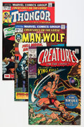 Bronze Age (1970-1979):Horror, Creatures on the Loose Group (Marvel, 1971-75).... (Total: 24 ComicBooks)