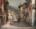 Fine Art - Painting, European:Contemporary   (1950 to present)  , DANIEL JAUGEY (French, b. 1929). Vernante, Italy, 1969. Oilon canvas. 19-3/4 x 24 inches (50.2 x 61.0 cm). Signed and d...