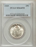 Standing Liberty Quarters: , 1929 25C MS64 Full Head PCGS. PCGS Population (452/378). NGCCensus: (296/200). Mintage: 11,140,000. Numismedia Wsl. Price ...