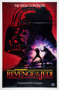 Memorabilia:Science Fiction, Star Wars: Revenge of the Jedi Teaser One Sheet (20th Century Fox, 1983) Condition: FN+....