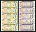 Canadian Currency: , $10 and $20 Crow-Bouey Notes.. ... (Total: 10 notes)