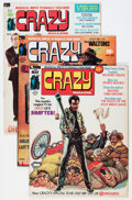 Bronze Age (1970-1979):Humor, Crazy Magazine #1-13 and 15 Group (Marvel, 1973-77) Condition:Average VF/NM.... (Total: 14 Comic Books)