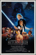 """Movie Posters:Science Fiction, Return of the Jedi & Other Lot (20th Century Fox, 1983). OneSheets (2) (27"""" X 41"""") Style B and Regular. Science Fiction.. ...(Total: 2 Items)"""