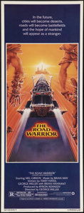 """Movie Posters:Science Fiction, The Road Warrior (Warner Brothers, 1982). Insert (14"""" X 36"""").Science Fiction.. ..."""