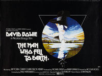 "The Man Who Fell to Earth (British Lion, 1976). British Quad (30"" X 40""). Science Fiction"