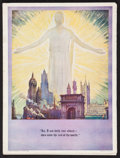 "Movie Posters:Historical Drama, The King of Kings (Pathé, 1927). Program (Multiple Pages, 9"" X12""). Historical Drama.. ..."