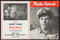 """Movie Posters:Comedy, Henry Fonda in Mister Roberts (1948). Theater Playbill (MultiplePages, 9"""" X 12""""). Comedy.. ..."""