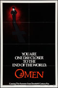 "Movie Posters:Horror, The Omen (20th Century Fox, 1976). One Sheet (27"" X 41"") Advance Style A. Horror.. ..."