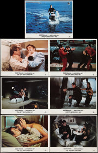 "The Spy Who Loved Me (United Artists, R-1984). Lobby Cards (7) (11"" X 14""). James Bond. ... (Total: 7 Items)"