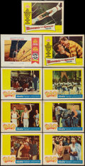 """Movie Posters:Drama, The Big Show and Others Lot (20th Century Fox, 1961). Lobby Cards (9) (11"""" X 14""""). Drama.. ... (Total: 9 Items)"""