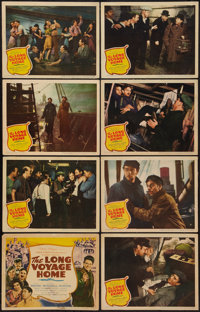 """The Long Voyage Home (United Artists, 1940). Lobby Card Set of 8 (11"""" X 14""""). Drama. ... (Total: 8 Items)"""