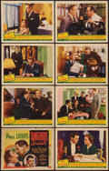 "Movie Posters:Drama, Dangerous Secrets (Grand National, 1938). Lobby Card Set of 8 (11"" X 14""). Drama.. ... (Total: 8 Items)"