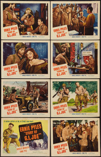 """The Story of G.I. Joe (United Artists, 1945). Lobby Card Set of 8 (11"""" X 14""""). War. ... (Total: 8 Items)"""