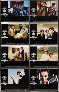 "The Enforcer (Warner Brothers, 1977). Lobby Card Set of 8 (11"" X 14""). Crime. ... (Total: 8 Items)"