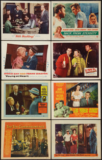 """The Ten Commandments & Others Lot (Paramount, 1956). Lobby Cards (15) (11"""" X 14""""). Drama. ... (Total: 15 I..."""