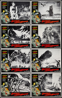 "Godzilla vs. the Smog Monster (American International, 1972). Lobby Card Set of 8 (11"" X 14""). Science Fiction..."