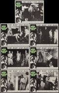 "Movie Posters:Horror, Night of the Living Dead (Continental, 1968). Lobby Cards (7) (11""X 14""). Horror.. ... (Total: 7 Items)"