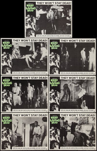 "Night of the Living Dead (Continental, 1968). Lobby Cards (7) (11"" X 14""). Horror. ... (Total: 7 Items)"
