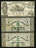 Obsoletes By State:Louisiana, Baton Rouge, LA- State of Louisiana $2, $3, $5 . ... (Total: 3 notes)