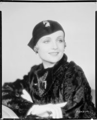 """Carole Lombard (Paramount, Early 1930s). Nitrate Negative (7.75"""" X 9.75""""). Miscellaneous"""