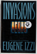 Books:Mystery & Detective Fiction, Eugene Izzi. SIGNED. Invasions. Bantam, 1990. First edition,first printing. Signed by the author. Fine....