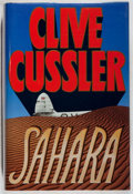 Books:Mystery & Detective Fiction, Clive Cussler. SIGNED. Sahara. Simon and Schuster, 1992.First edition, first printing. Signed by the author. ...