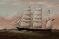 Maritime:Paintings, WILLIAM HOWARD YORKE (British American, 1847-1921). 'Emily A.Davies', 1882. Oil on canvas. 27 x 37 inches (68.6 x 94.0 ...