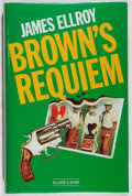 Books:Mystery & Detective Fiction, James Ellroy. INSCRIBED. Brown's Requiem. Allison & Busby, 1984. First British edition, first printing. Signed and...
