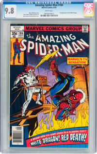 The Amazing Spider-Man #184 (Marvel, 1978) CGC NM/MT 9.8 White pages