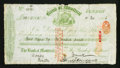 Canadian Currency: , Montreal, PQ- Bank of Montreal $100 First Bill of Exchange Nov. 25,1886 Ch. # 505-10-00. ...