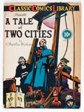 Golden Age (1938-1955):Classics Illustrated, Classic Comics #6 A Tale of Two Cities - First Edition (Gilberton, 1942) Condition: GD/VG....