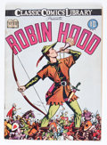 Golden Age (1938-1955):Classics Illustrated, Classic Comics #7 Robin Hood - First Edition (Gilberton, 1942)Condition: VG/FN....