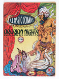 Golden Age (1938-1955):Classics Illustrated, Classic Comics #8 Arabian Knights - First Edition (Gilberton, 1943) Condition: VG+....