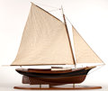 Maritime:Decorative Art, SHIP MODEL OF VICTORIAN FRIENDSHIP SLOOP 'WINDSONG'. A fine andattractive full sail model of the sloop launched in Bristol,...